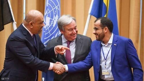 """"""" الخليج """" الإماراتية توضح دليل اقتناع الأمم المتحدة بمراوغات الحوثي"""