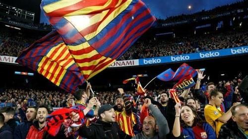 مباراة برشلونة وليفانتي هي الأسوأ في الحضور الجماهيري
