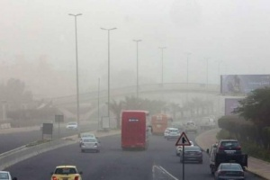 بسبب التقلبات الجوية غلق 3 موانئ  بحرية بالكويت وتحذيرات من الغبار العالق