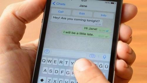 """""""واتس آب"""" تبتكر طريقة لإرسال الرسائل النصية بدون كتابتها"""