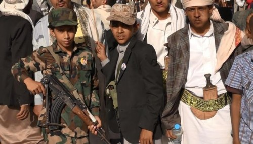 التحالف العربي ينقذ 9 أطفال جندتهم مليشيا الحوثي بشرورة