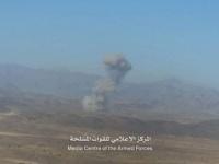 مقاتلات التحالف العربي تقصف مواقع حوثية في مأرب