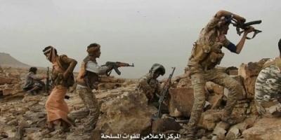 تحرير سلاسل جبلية هامة يتمركز فيها الحوثيون بمديرية كتاف