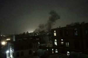 مسؤول عسكري: المواقع الحوثية المستهدفة بصنعاء مشروعة لطيران التحالف