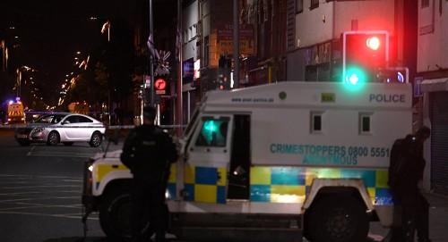 انفجار سيارة مفخخة بأيرلندا الشمالية
