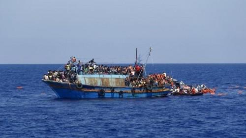 فقدان 15 مهاجرًا قبالة السواحل الليبية