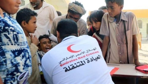 """خلال 4 أيام.. 18 ألف يستفيدون من عيادات """"الهلال الإماراتي"""" المتنقلة في الساحل الغربي"""