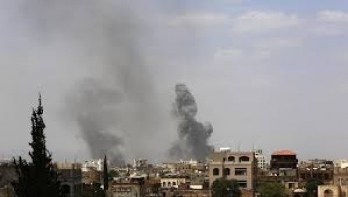 وصول ضربات التحالف العربي لمواقع الحوثيين بصنعاء إلى 24 غارة