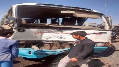 حادث مروري مروع في صنعاء.. وإصابة 30 شخصاً