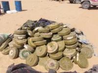 """مشروع """"مسام"""" السعودي ينزع 38 ألف لغم حوثي باليمن"""