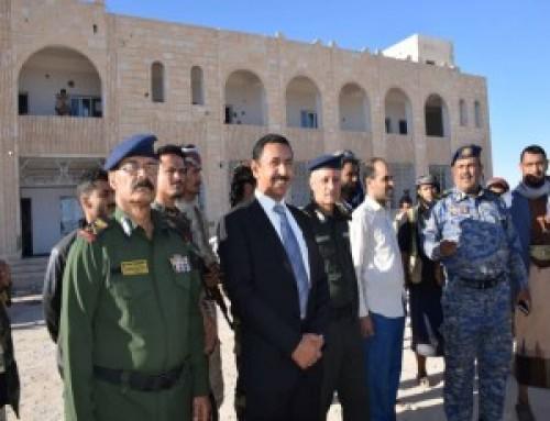 شرطة شبوة تستأنف العمل في آخر فروع إداراتها الأمنية شرق المحافظة
