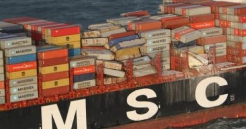 النقل الروسية: اشتعال النار في سفينتين في مضيق كيرتش