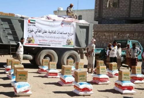"""١٢ ألف شخص يستفيدون من مساعدات """"الهلال الإماراتي"""" بشبوة في يناير"""