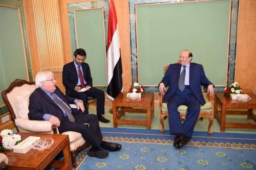 """جميح يطالب هادي بقول """" لا """" للمبعوث الأممي"""