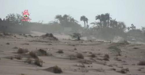 مليشيات الحوثي تواصل قصفها مواقع العمالقة في الحديدة