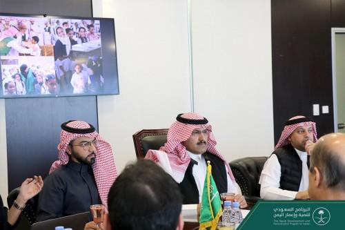 جريفيث يطلع على مشروعات البرنامج السعودي لإعمار اليمن