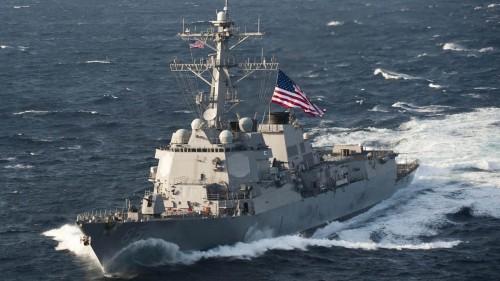 """وسط توترات مع الصين.. أمريكا ترسل سفينتين حربيتين إلى مضيق """"تايوان"""""""