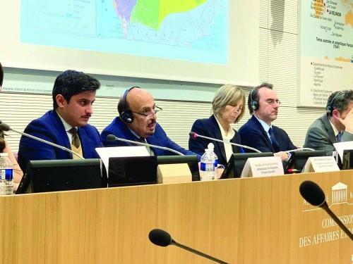 سفير السعودية بفرنسا يفضح مليشيات الحوثي (فيديو)