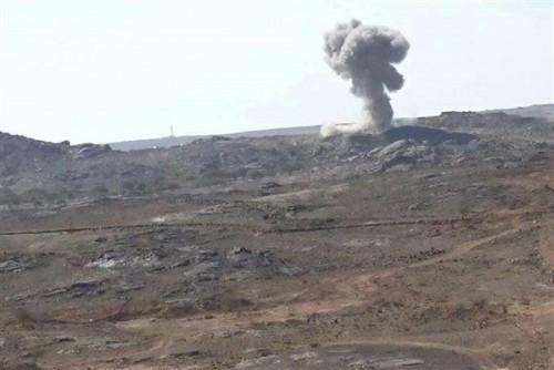 استشهاد وإصابة 11 جندياً جراء انفجار لغم حوثي بالبيضاء