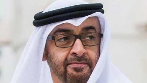 محمد بن زايد يفاجئ الشعب الإماراتي قبل مباراة قطر
