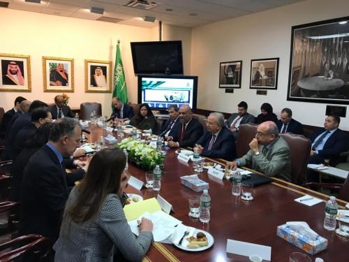 اليماني يلتقي سفراء الدول الخمس دائمة العضوية بمجلس الأمن