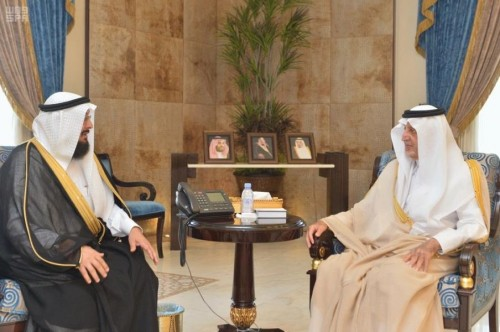 أمير مكة يطلع على جهود الهيئة العالمية للإغاثة