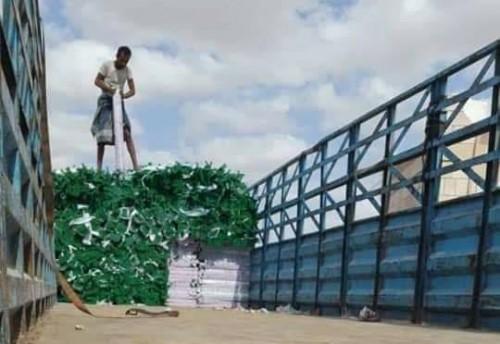البرنامج السعودي لإعمار اليمن يقدم دفعة من المقاعد المدرسية للمهرة (صور)