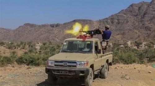 مقتل 15 حوثيًا بصعدة وقطع خط إمداد للمليشيات في باقم