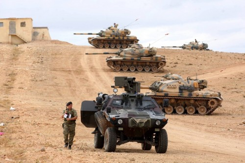 الزعتر: قوات أردوغان لم تستطع صد هجوم الأكراد