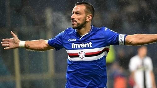 رقم قياسي من مهاجم سامبدوريا في الدوري الإيطالي