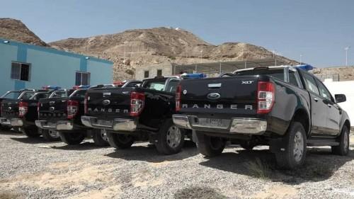 التحالف يقدم دعمًا جديدًا للأمن والشرطة بساحل حضرموت (صور)