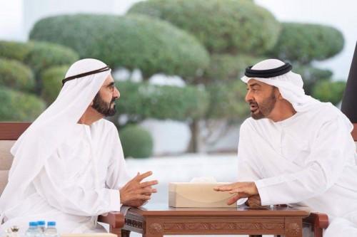 ولي عهد أبو ظبي يبحث قضايا الوطن مع حاكم دبي