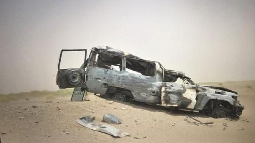 انفجار سيارة إسعاف بمدينة المخاء وأنباء عن سقوط قتلى
