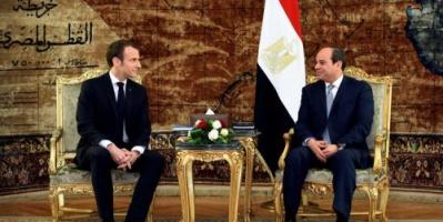 الإليزيه ينشر صورا من زيارة ماكرون للأزهر والكنيسة المصرية