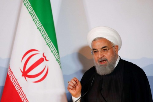 """هكذا يعلق """"روحاني"""" فشله على شماعة العقوبات الأمريكية"""