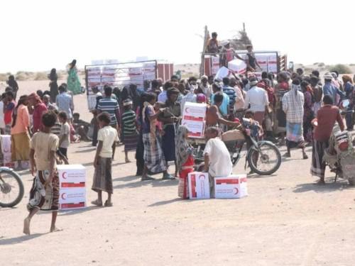 ارتفاع أعداد مستفيدي المساعدات الإماراتية بالساحل الغربي إلى مليون شخص