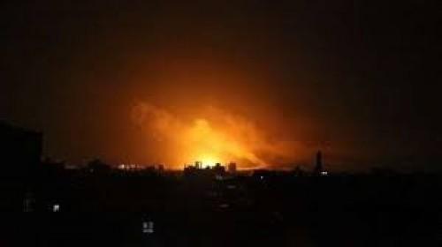 """شهود عيان لـ """" المشهد العربي """" : انفجارات تهز صنعاء بالتزامن مع غارات للتحالف"""