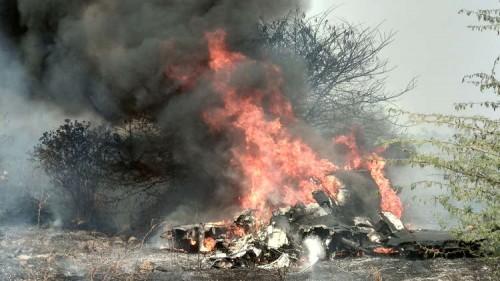 """تحطم طائرة من طراز """"ميراج-2000"""" تابعة لسلاح الجو الهندي"""