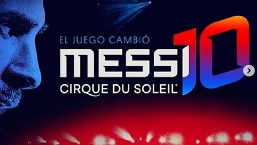 """نجوم برشلونة في حفل سيرك """"ميسي 10"""""""