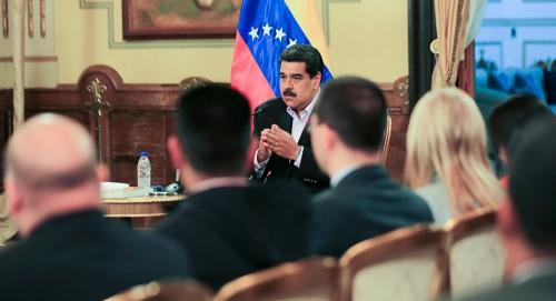 """رئيس بوليفيا يصل فنزويلا لدعم """"مادورو"""""""