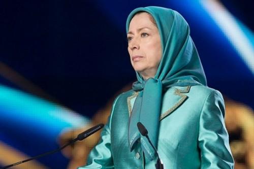 رجوي: انتفاضة الشعب الإيراني ضد قمع النظام توفر الأمن للعالم