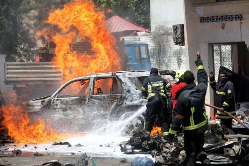مقتل جنود أثيوبيين نتيجة انفجار سيارة ملغومة بالصومال