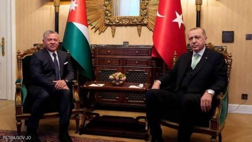 مباحثات قمة بين تركيا والأردن باسطنبول