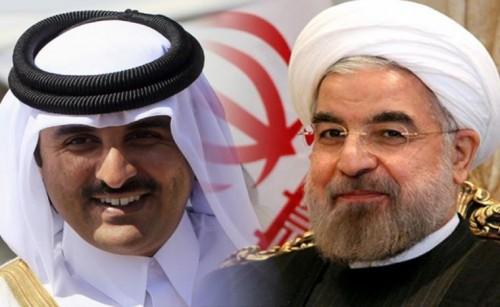"""تقرير يكشف.. تميم إرتمى في أحضان إيران لإنقاذ """"الإخوان"""""""