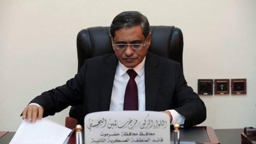 """"""" إصلاحٌ وتأمينٌ وخدمات """".. محافظ حضرموت يُفنّد خطة التنمية في 2019"""