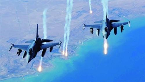 طائرات التحالف الدولي تشن غارة على معاقل للجيش السوري