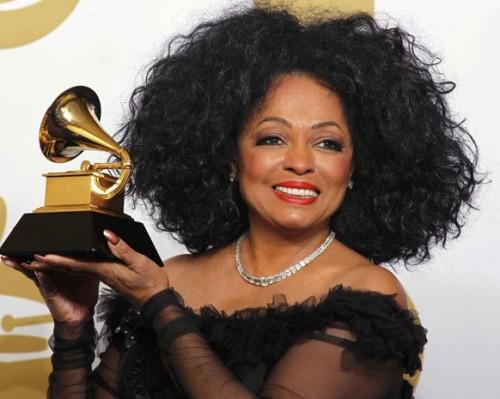 حفل Grammy Awards يعلن تقديم النجمة ديانا روس استعراضًا غنائيًا