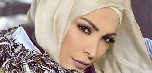 """أمل حجازي تطرح أغنيتها الجديدة """" حجابك تاج """""""