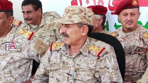 استشهاد نائب رئيس هيئة الأركان متأثراً بإصابته في هجوم العند