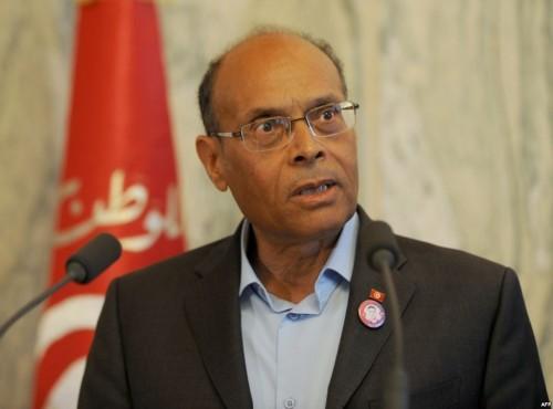 """المرزوقي أمام القضاء التونسي بتهمة """"الإساءة والشتم"""""""